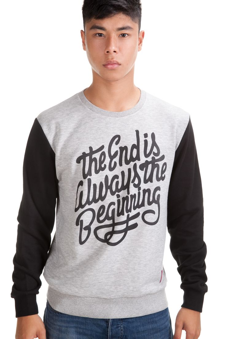The End Crew Sweat Rp. 329,000 Available in S, M, L and XL