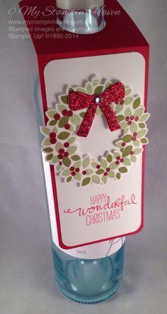 Wine bottle gift, Gift tags and Wine bottles on Pinterest (Bottle Gift Tags)