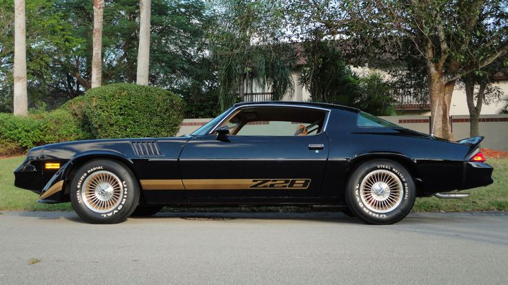 1979 Chevrolet Camaro Z28 Lm1 350 4bbl V8 M21 4speed G80