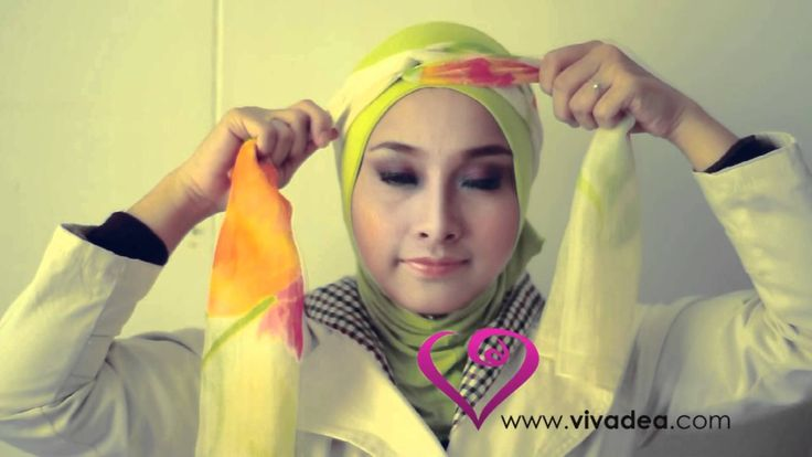 Mini Turban Tutorial - by vivadea More pompompam in personal blog diyatheauthor.blogspot.com