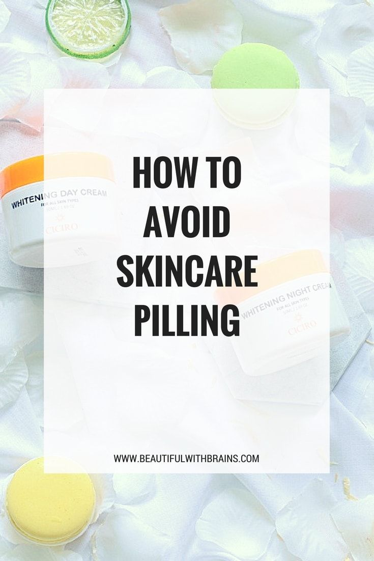 Is Your Moisturiser Balling Up On Your Face Sunscreen Rubbing Off Here S Why Skincare Products Pill And How To Avoid Skin Care Acne Skin Care Face Sunscreen