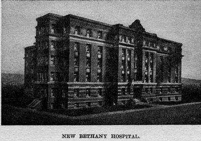 Bethany Hospital in Kansas City, KS. Built 1892 on 12th Street.