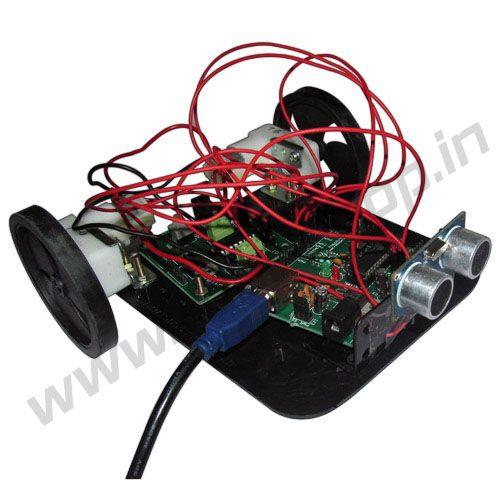 Obstacle Avoider using Ultrasonic Sensor