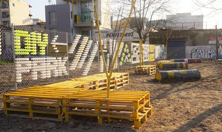 Nelios, atenistas Team Up to Create New Inner-city Park at Gazi