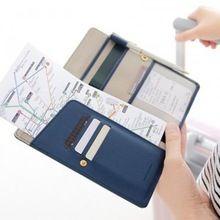 Дорожные принадлежности владельца паспорта кошелек организаторы чековой книжки документ сумки книгу клатч мешок офис школы(China (Mainland))
