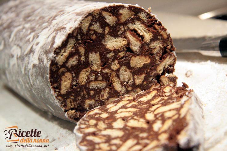 salame cioccolato pasqua natale