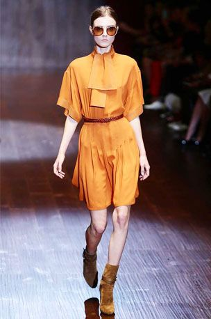 Gucci's SS15 collection had no-fuss silhouettes in plenty