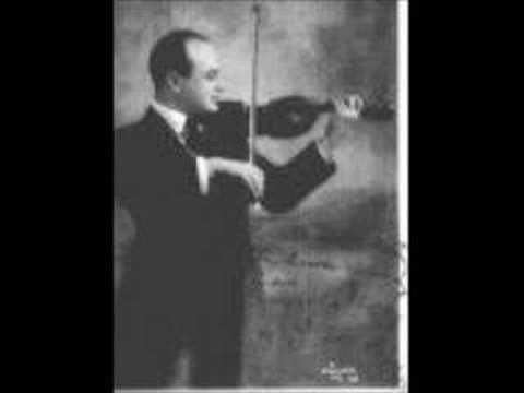 mischa elman plays zigeunerweisen