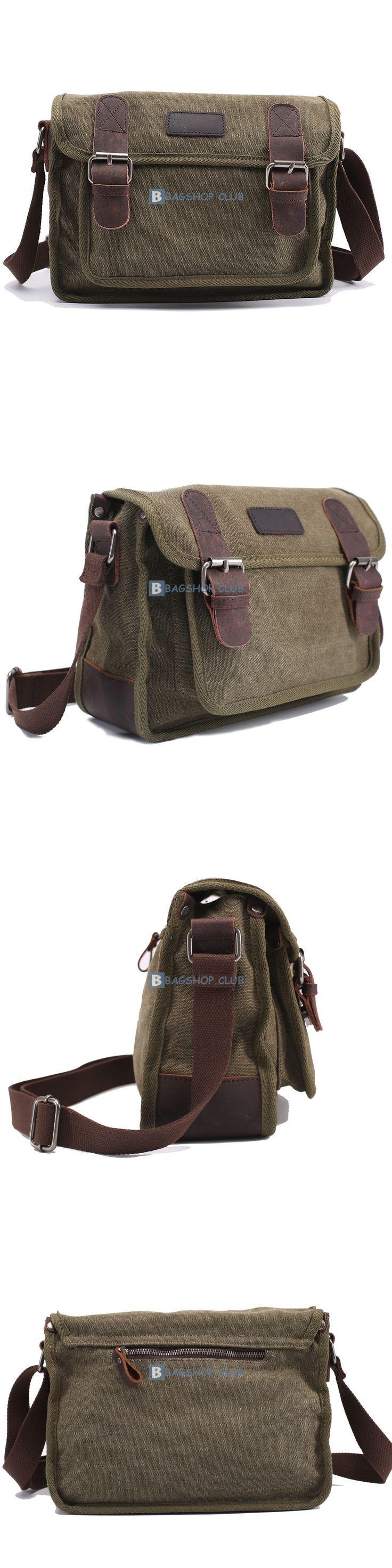 Canvas Shoulder Bags For Men Canvas Travel Bag