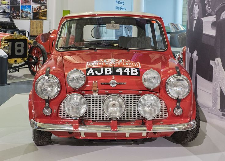 The 1964 Morris Mini Cooper S, winner of the 1965 Monte Carlo Rally [1280 × 920]