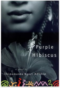 Purple Hibiscus by Chimamanda Ngozi Adichie. 15-year-old Kambili's world is dominated by her wealthy Catholic father, who, while is repressive and fanatically religious. When Nigeria begins to fall apart under a military coup, Kambili's father sends her and her brother away to stay with their aunt, a University professor, whose house is noisy and full of laughter. There, Kambili and her brother discover a life and love beyond the confines of their father's authority.