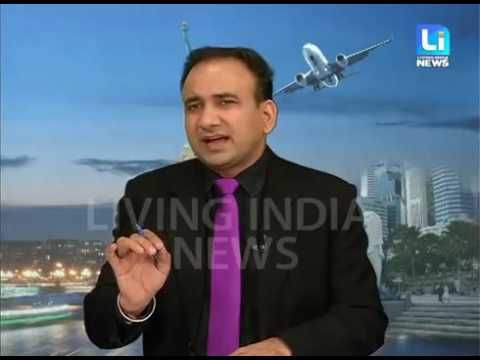 Visa Helpline Show By Mr. Pardeep Balyan on Living India News