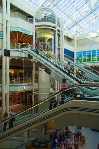 Inside the Princes Quay shopping centre in the City of Hull Yorkshire UK