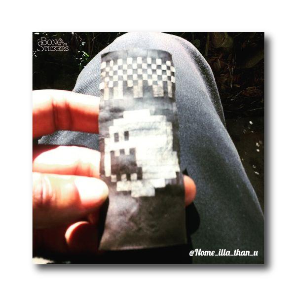 Ghost Image Blunt - Marijuana Sticker