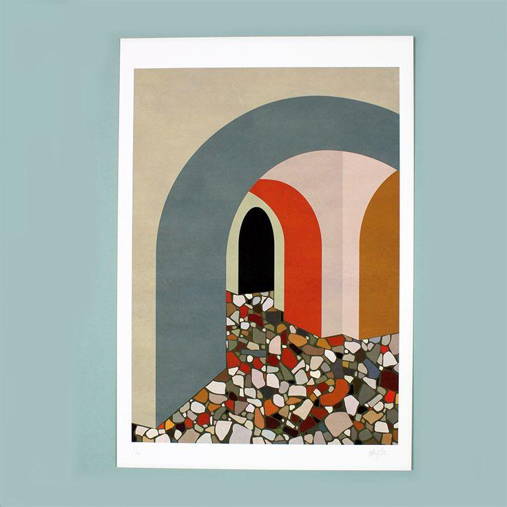 GICLEE PRINT TATE BRITAIN ART PRINT LIMITED EDITION CHARLOTTE TAYLOR DELLO STUDIO COOL MACHINE CONCEPT STORE (2)