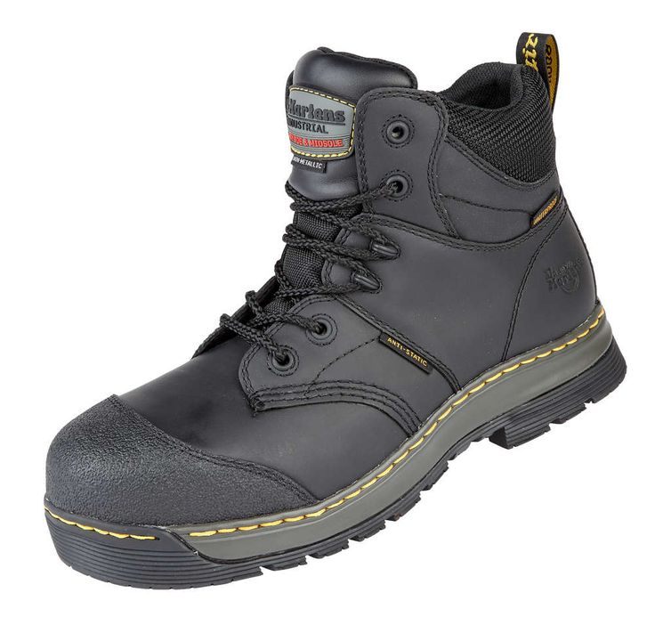 Dr Martens Surge ST Waterproof Safety Boot Black