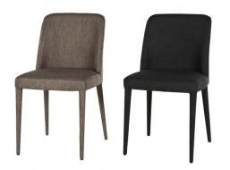 Rosie Dining Chair - in soot colour