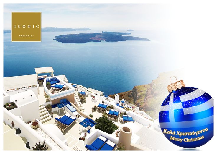 Merry Christmas from Iconic Santorini, a boutique cave hotel!