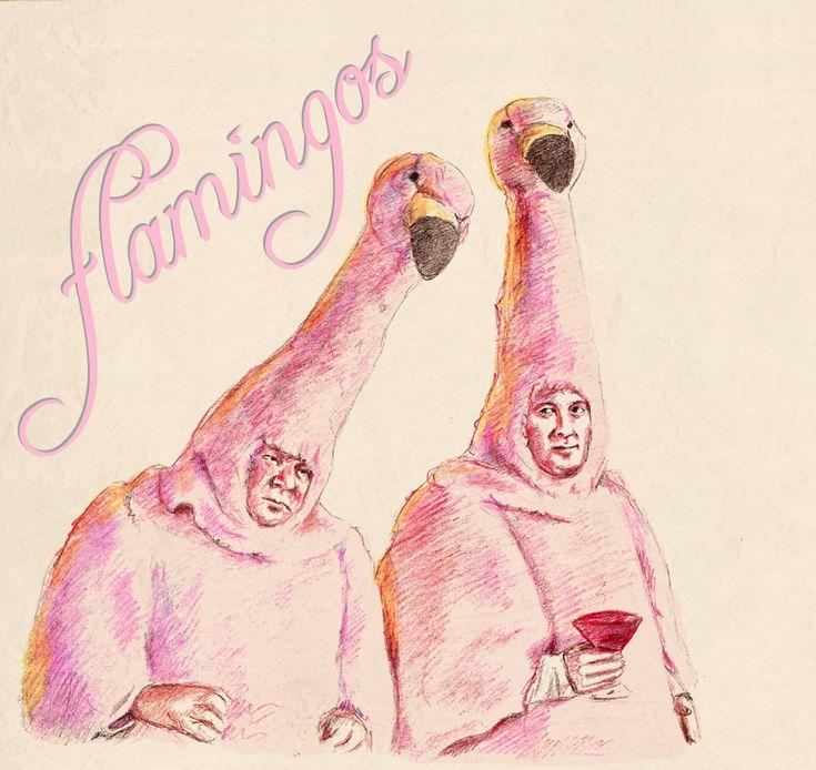 We are flamingos - Boston Legal