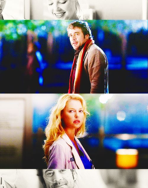 Izzie Stevens and Denny Duquette ..powerful episodes even if they were limited.  These showed major acting strength for Izzie!!