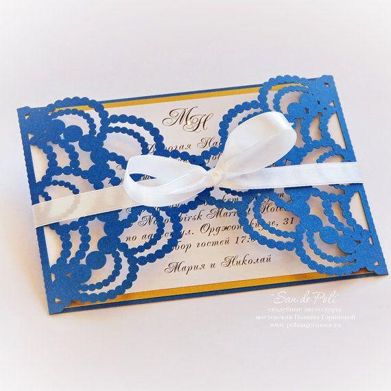52 best San de Poli Design Laser cut wedding invitations images on - free wedding invitation card templates