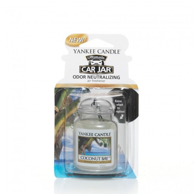 Yankee Candle Car Jar Ultimate Coconut Bay