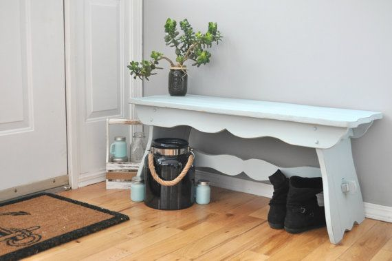 Farmhouse Bench, Rustic Bench, Modern Rustic Furniture,