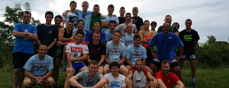 Rugby Club Canton Montrevel : olympiade 2014-2015  : parcours Mont Myon