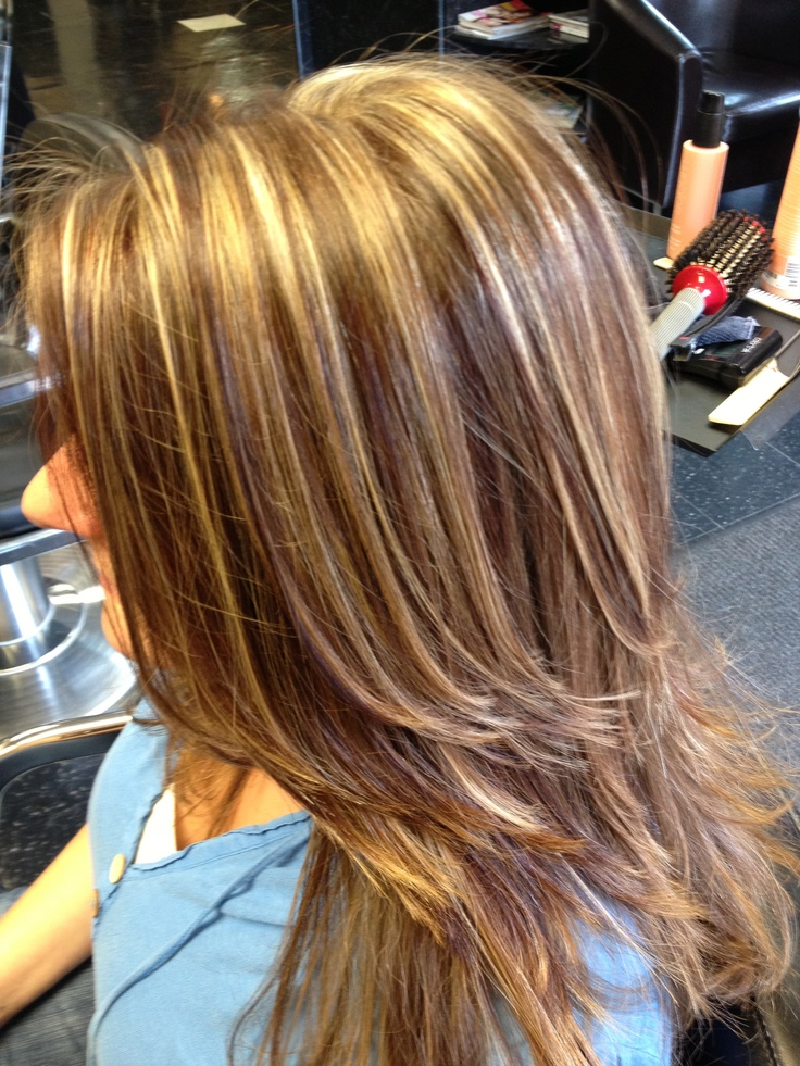 Hight lights lowlights and cut style by Jaimee Karlen