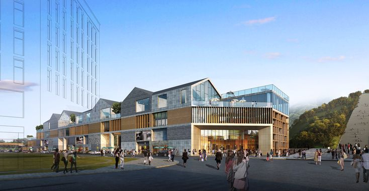 """Gallery of KUAN Architects Unveil Design for """"The Antique Fish"""" Shopping Center in China - 4"""