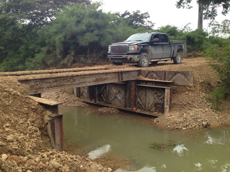 RodLa Construction LTD. A Transitional Bridge That Allows Us To Complete Our Project.