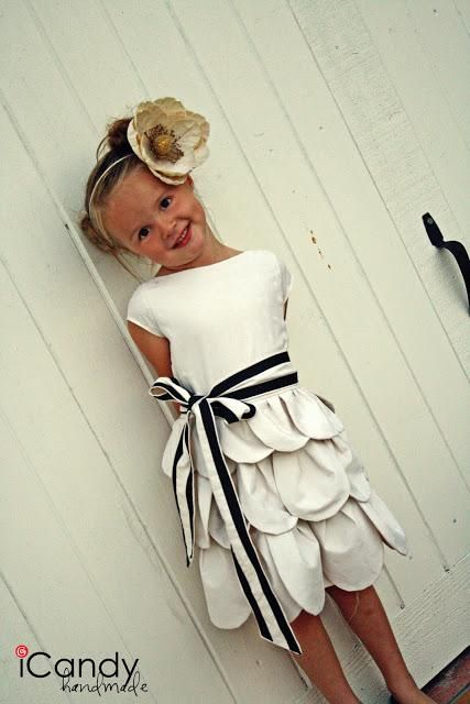DIY Girls Fashion: DIY Petal Dress