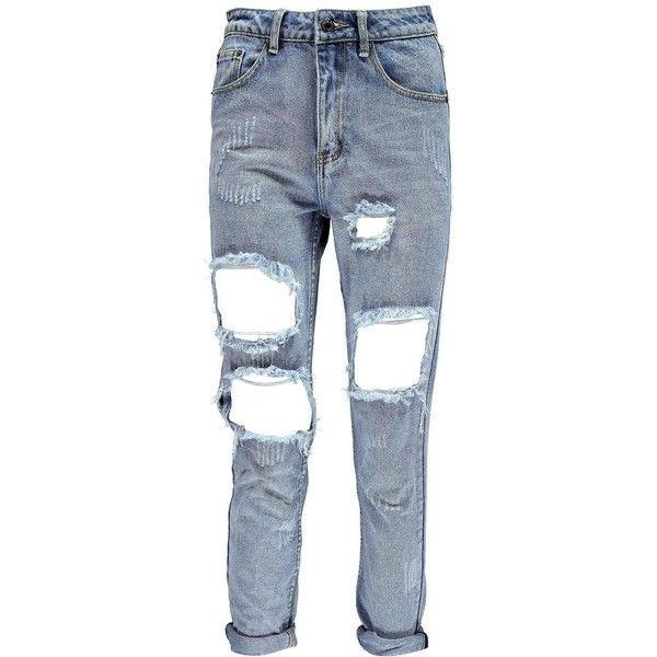 Extreme ripped jeans ile ilgili Pinterest'teki en iyi 25'den fazla ...