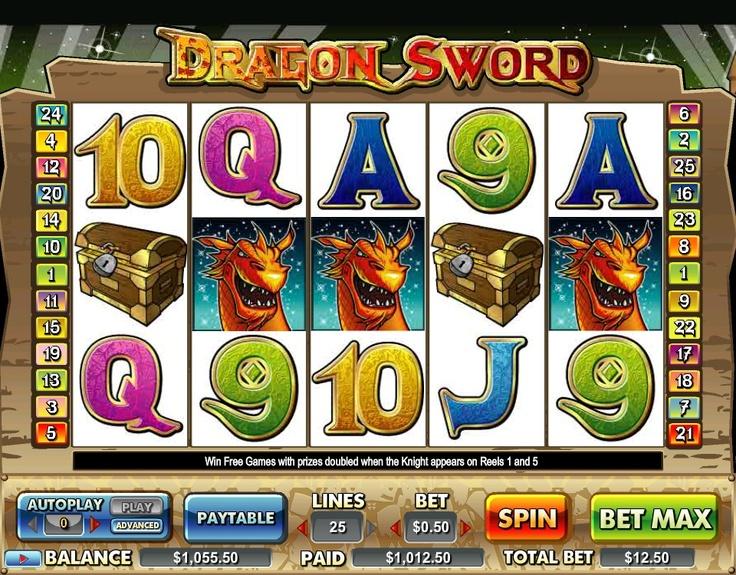 dragon sword $1000 win