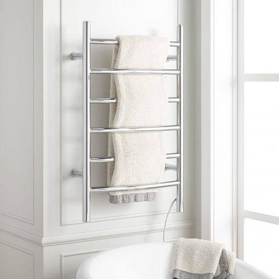 Towel Warmers, Heated Towel Racks| Signature Hardware