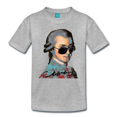 T-Shirt für Klassik Fans insbesondere von Wolfgang Amadeus Mozart!
