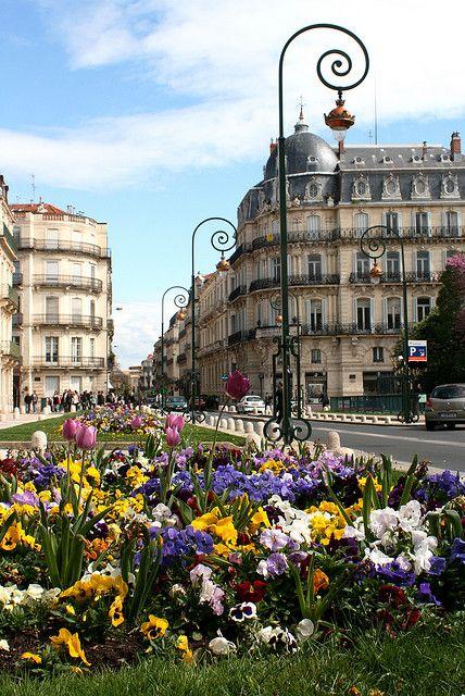 Springtime in Montpellier, France