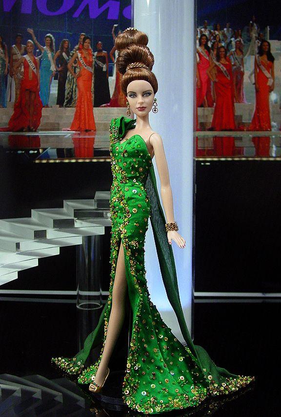 OOAK Barbie NiniMomo's Miss Alabama 2010