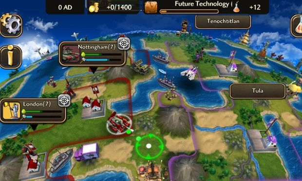 Civilization Revolution 2 brings classic strategy game back for iPhone and iPad ($$ But No InApp Purchases)