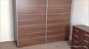 Image result for double sliding wardrobe doors