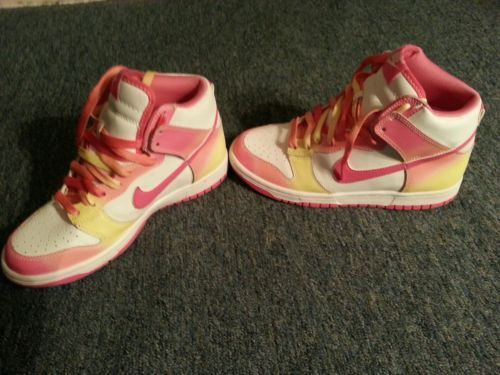 Nike Womens High Top Sneakers (cotton Candy Edition)