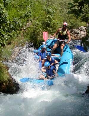 Rafting na Cetině
