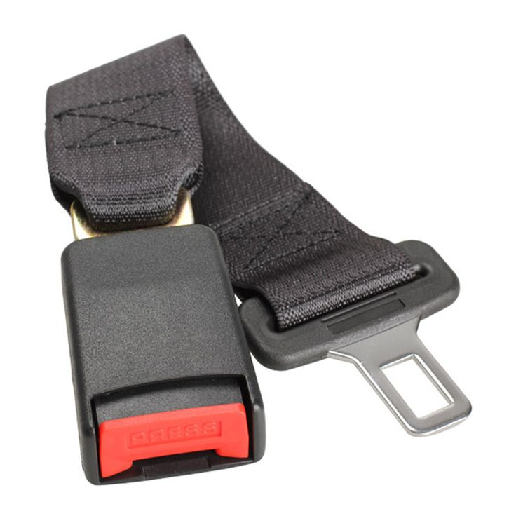Car Vehicle Seat Belt Extension Extender Strap Safety Buckle Black Car Interior Accessories 22mm Buckle Car Seat Belt New ME3L #jewelry, #women, #men, #hats, #watches, #belts, #fashion