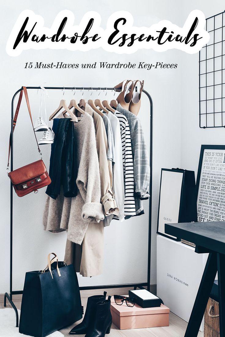 Kleiderschrank-Basics: 15 Must-haves und Wardrobe Key-Pieces für schöne Alltagsoutfits!