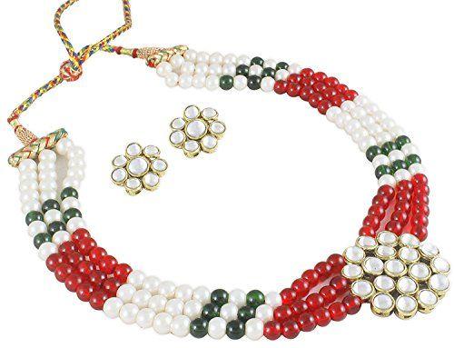 Red & Green Pearls Indian Bollywood Gold Plated Ethnic Ku... https://www.amazon.com/dp/B06Y2LF2S5/ref=cm_sw_r_pi_dp_x_GjCczbCHCYX48