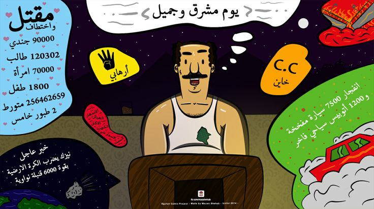 #Egypt #Now #Mazen #Comics