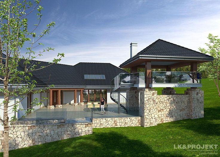 Projekty domów LK&Projekt LK&942 wizualizacja 4