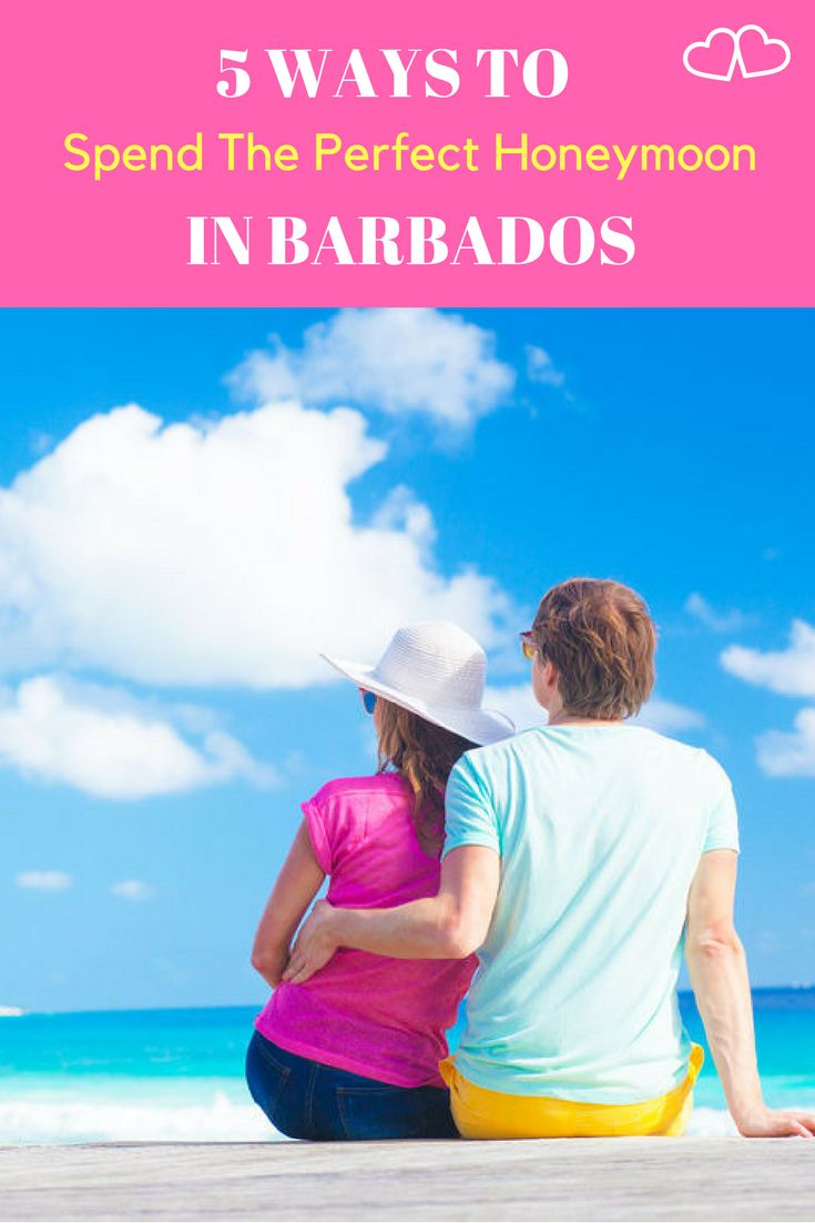Island romance in Barbados...