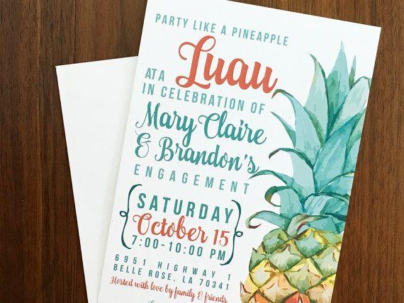 75 Best Luau Engagement Party Images On Pinterest Engagement