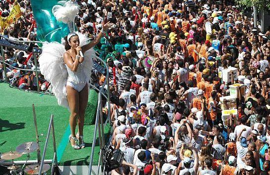 Blocos en el Carnaval de Rio.